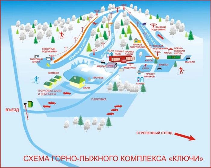Горно-лыжный комплекс Ключи
