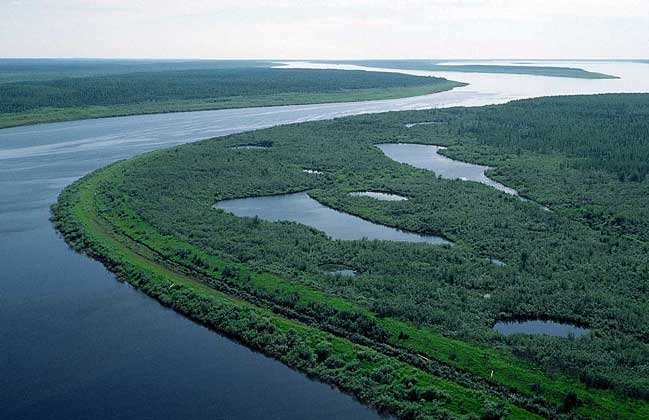 Река Енисей