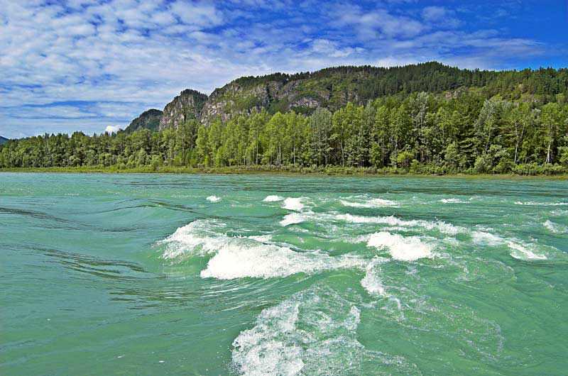 фото река катунь
