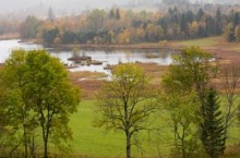 Река Белая Вода в Александровском районе Томской области