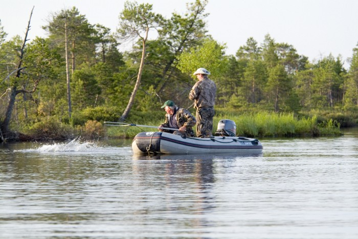 рыбалка в томском районе