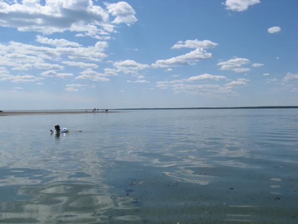 Озеро Горько-перешеечное