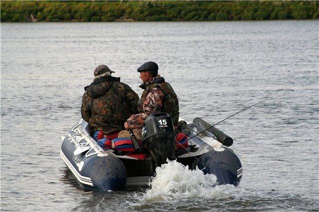 Рыбалка на реках Томской области.