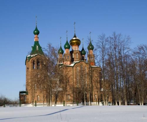 Свято-Георгиевская церковь в Новоалтайске
