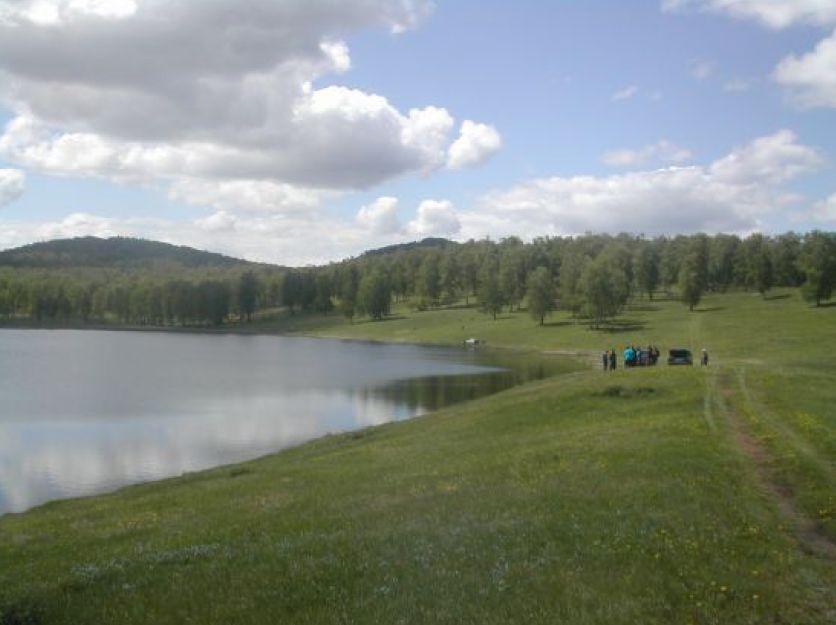 Озеро Литвино (Заводское) в Хакасии