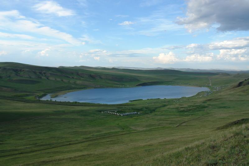 Озеро Матарак в Хакасии
