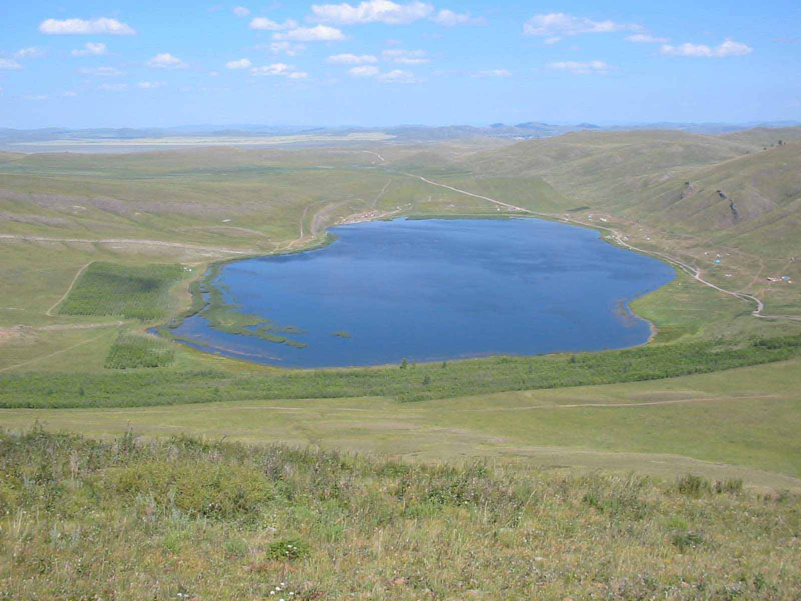 Озеро Шунет