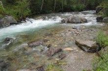 Река Айгулак в Горном Алтае