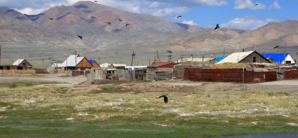Село Кош–Агач
