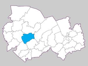Барабинский район на карте