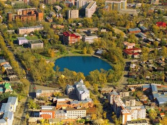 Белое озеро в Томске