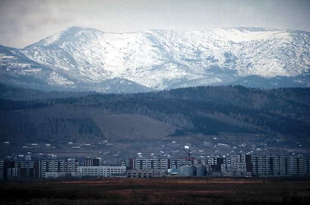 Город Саяногорск в Хакасии