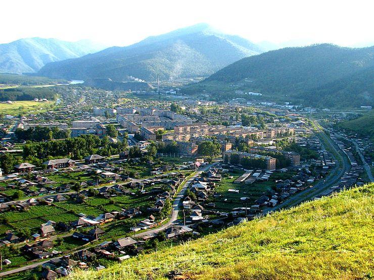 Город абаза в хакасии