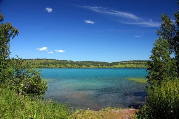 Озеро Инголь в Красноярском крае