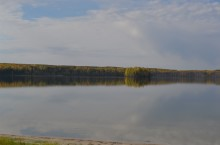Первое Светлое озеро в Колпашевском районе