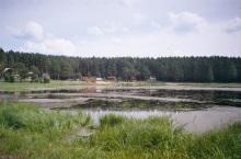 Песчаное озеро у села Тимирязевское