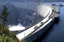 Саяно-Шушенское водохранилище в Хакасии