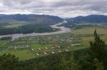 Село Арбаты в Хакасии