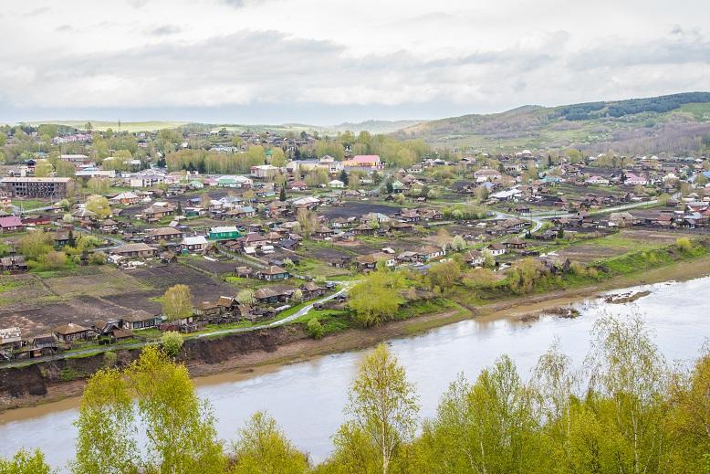 Село Ельцовка в Алтайском крае