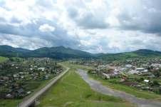 Чоя – районный центр Чойского района Горного Алтая