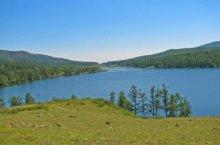 Озеро Буланкуль в Хакасии