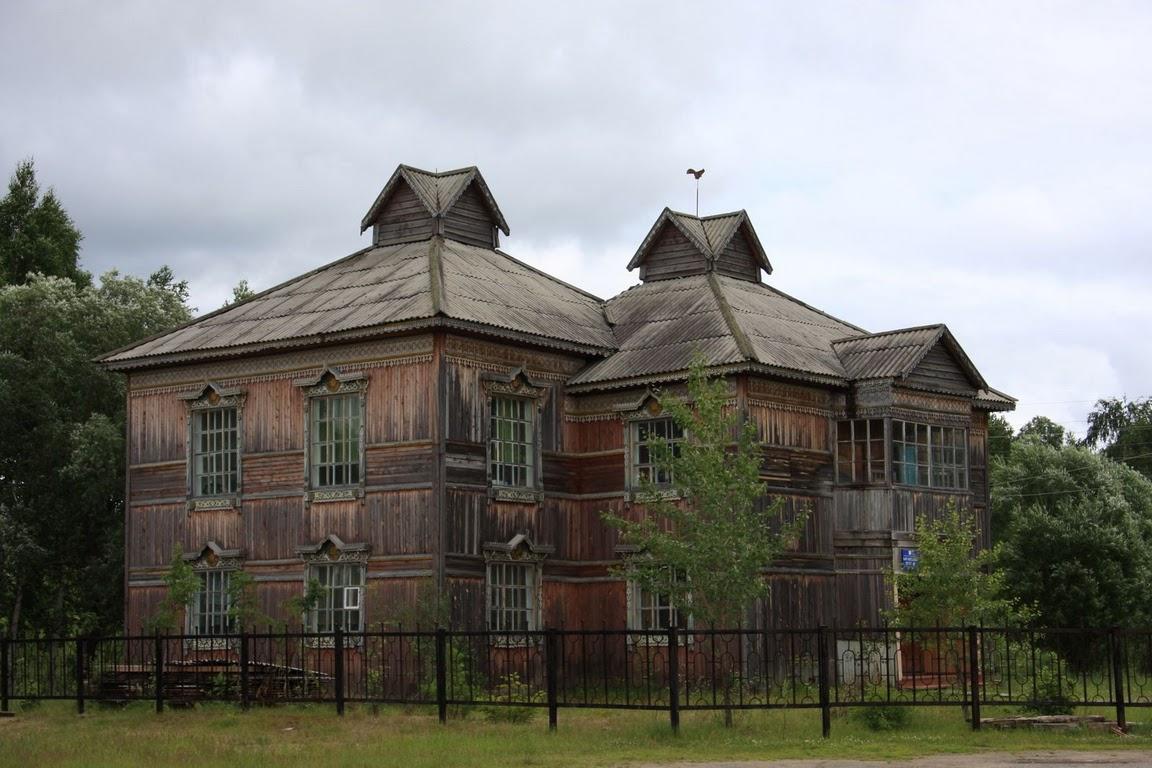 В селе Каргасок