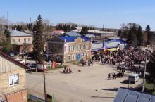 Кыштовский район в Новосибирской области.