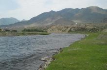 Река Урсул в Горном Алтае.