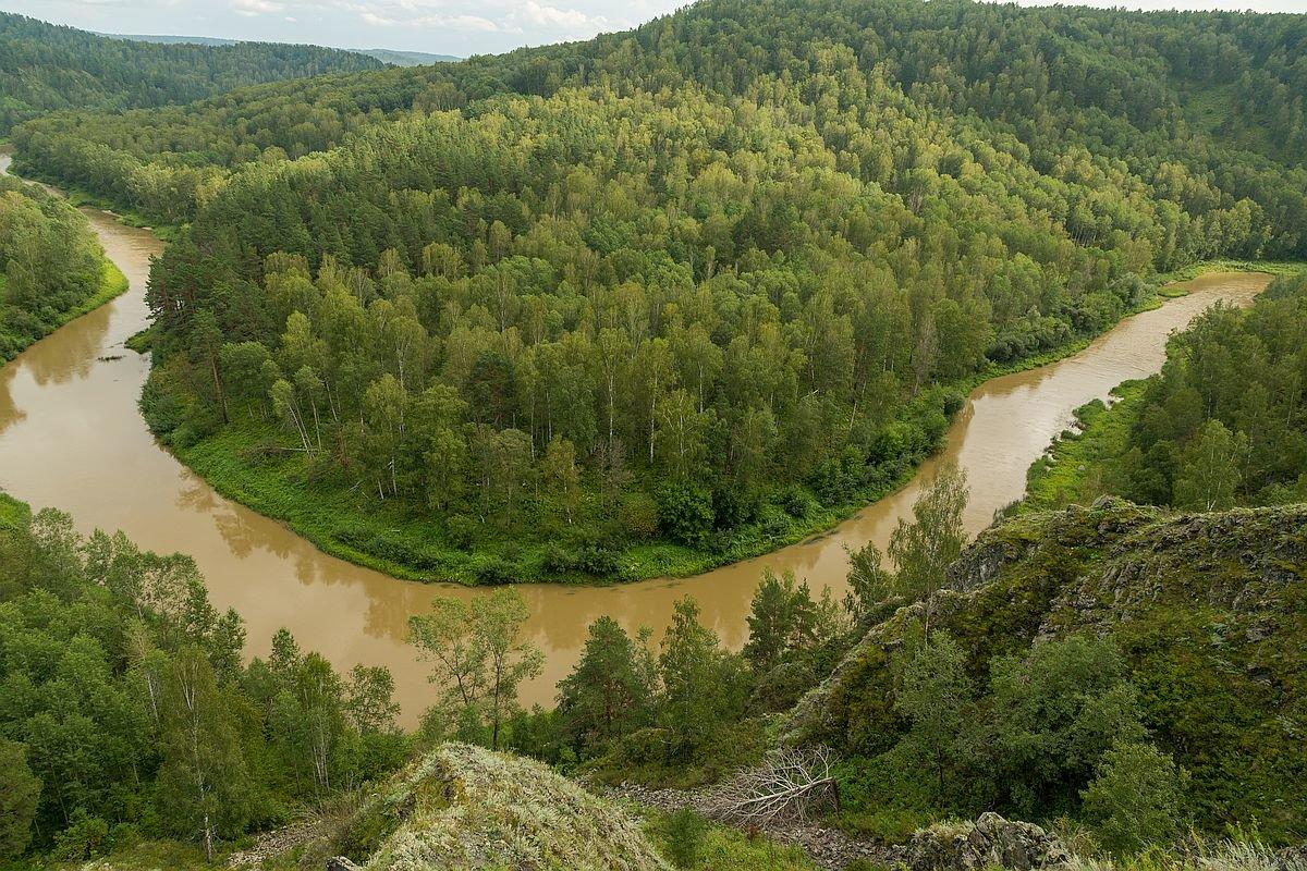 Маслянинский район река Бердь