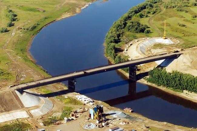 Мост на реке Парабель