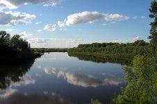 Река Парабель в Томской области