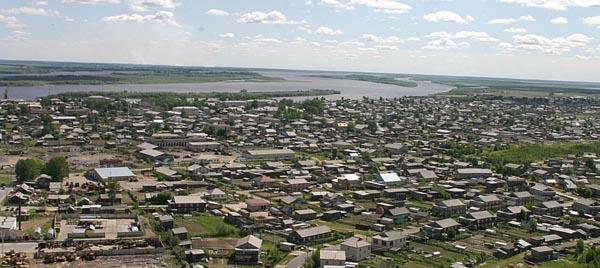 Село Александровское в Томской области