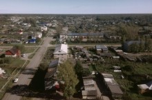 Село Бакчар в Томской области