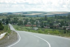 Деревня Кабайлы  в Хакасии