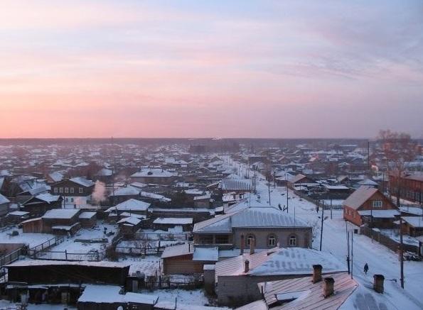 Город Енисейск в Красноярском крае
