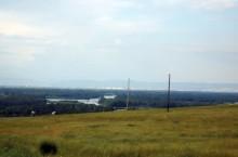 Поселок Изыхские Копи в Хакасии