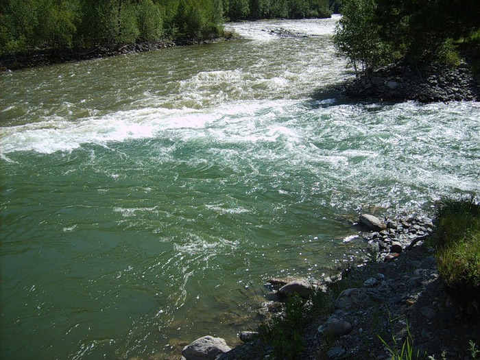 Река Чебдар