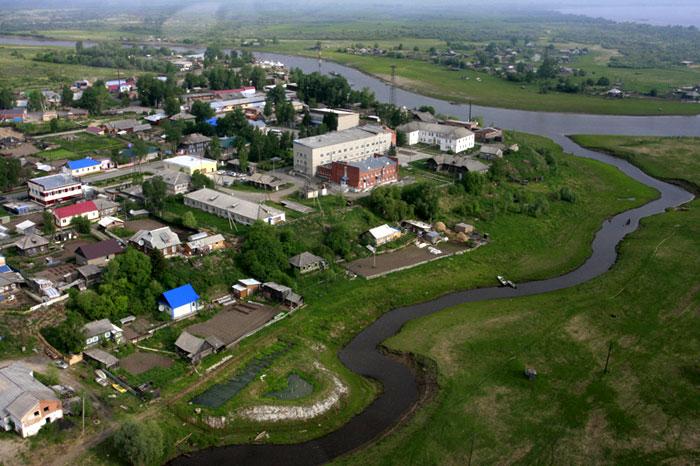 Село Парабéль в Томской области