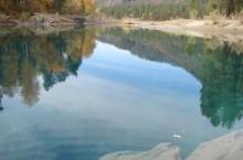 Чепошские озёра в Горном Алтае