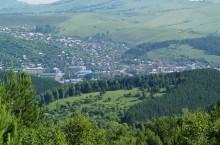 Отрог Иолго — гора Комсомольская