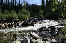 Водопады реки Озерной