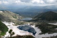Живописные скалы горы Большая Церковная