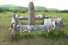 Саралинское изваяние в Хакасии