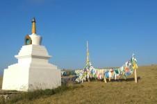 Село Тээли в Тыве