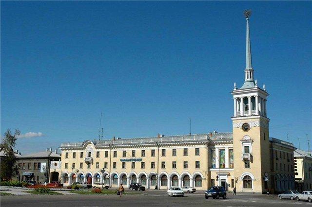 Город Ангарск в Иркутской области