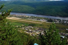 Город Бодайбо в Иркутской области