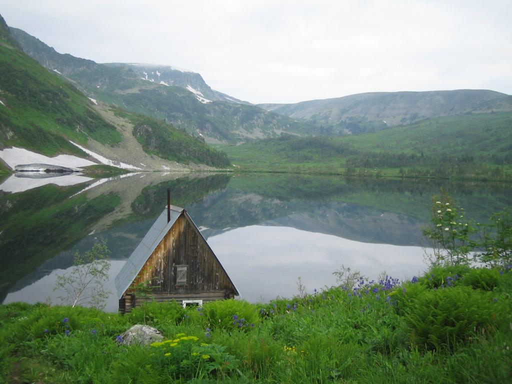 Озеро Рыбное в Кузнецком Алатау