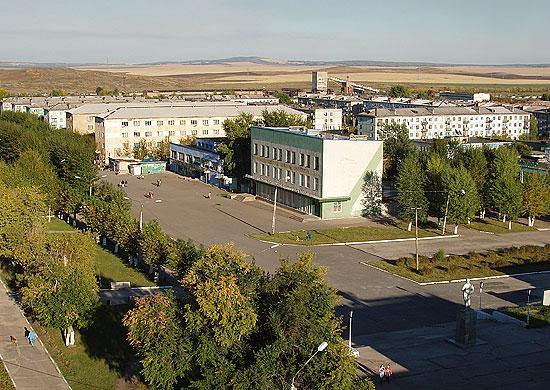 Поселок Солнечный в Красноярском крае