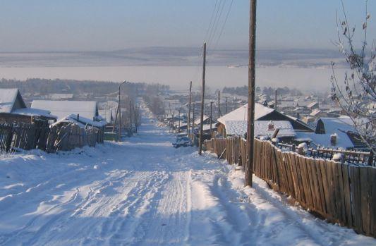 Поселок Усть-Уда