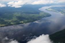 Река Ангара — единственная река вытекающая из Байкала